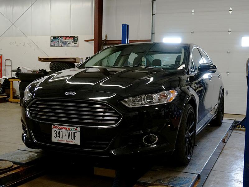 2014 Ford Fusion 18x8 Niche Wheels