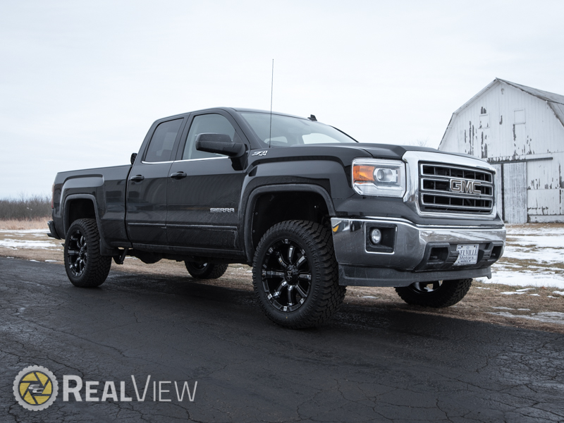 2014 Gmc Sierra 1500 With 3 5 Inch Rough Country Lift Kit Rbp Rolling Big  Power