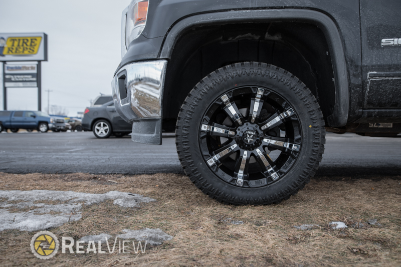 Wholesale Wheel And Tire >> 2014 GMC Sierra 1500 - 20x9 RBP Wheels 285/55R20 Atturo Tires Rough Country 3.5-inch Suspension ...