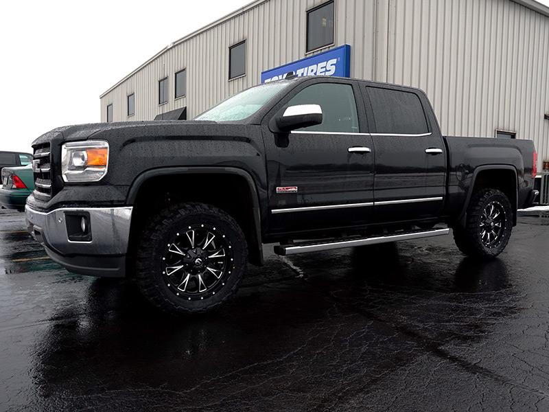 2014 Gmc Sierra 1500 20x9 Fuel Offroad Wheels 33x12 5r20 Federal