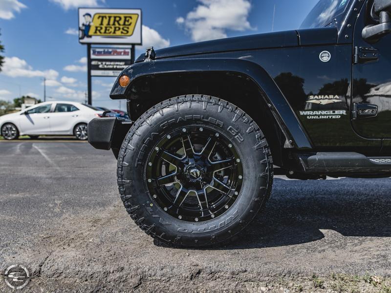 971103ed265 Jeep 33 Inch Tires.09 Jeep JKU No Lift 35 Inch Tires 20 Fuel ...