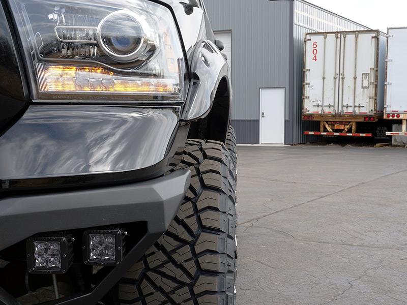 2014 Ram 1500 22x12 Fuel Offroad Wheels 37x12 5r22 Nitto