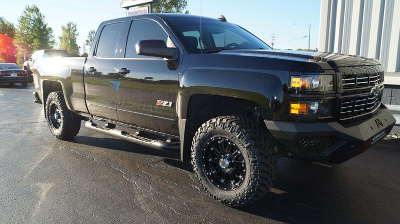 4 Inch Lift Kit For Chevy Silverado 1500 >> 2015 Chevrolet Silverado 1500 - 18x9 XD Series Wheels 285/65R18 Nitto Tires Rough Country 3.5 ...