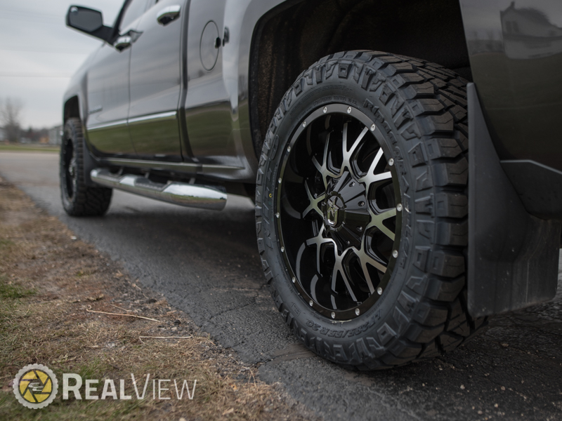 2015 chevrolet silverado 1500 20x9 dropstars wheels 285. Black Bedroom Furniture Sets. Home Design Ideas