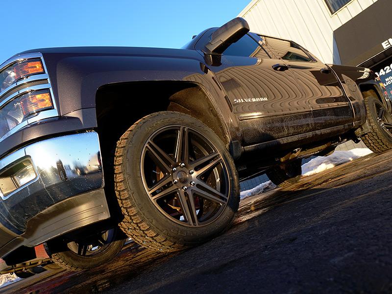 2015 Chevrolet Silverado 1500 22x9 5 Dub Wheels 285