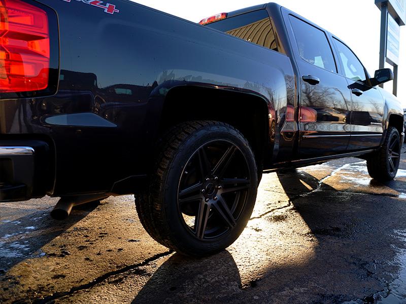 285 45r22 Tires >> 2015 Chevrolet Silverado 1500 - 22x9.5 Dub Wheels 285/45R22 Nitto Tires Rough Country 2-inch ...