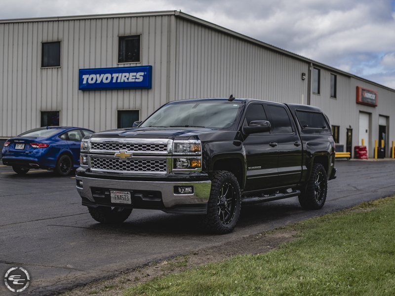 2015 Chevrolet Silverado 1500 - 20x9 Fuel Offroad Wheels ...