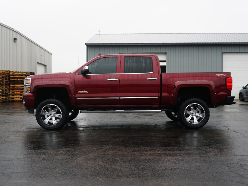 6 Inch Lift Kit For Chevy 1500 4wd >> 2015 Chevrolet Silverado 1500 20x10 Hostile Wheels 33x12