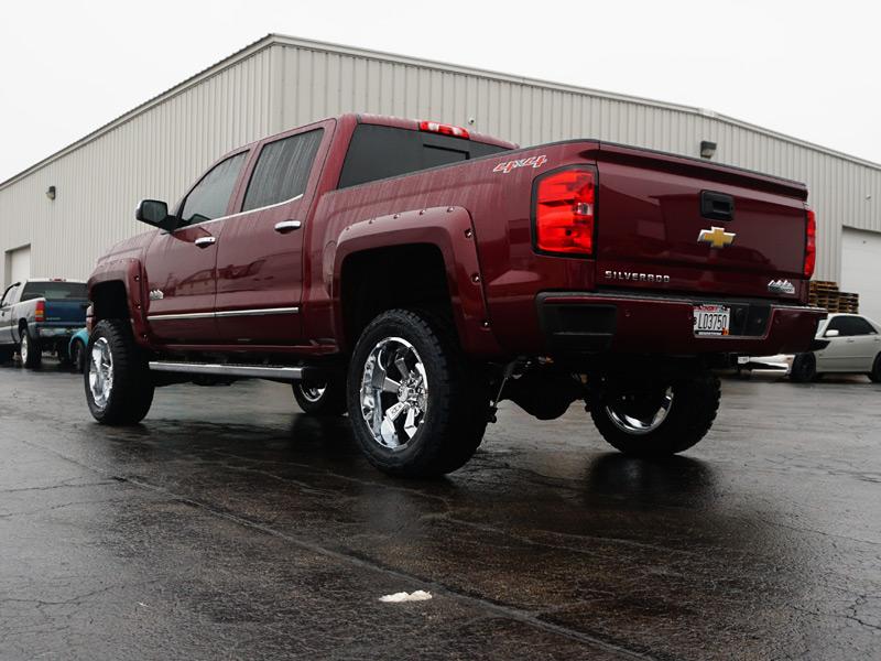 6 Inch Lift Kit For Chevy Silverado 1500 >> 2015 Chevrolet Silverado 1500 - 20x10 Hostile Wheels 33x12