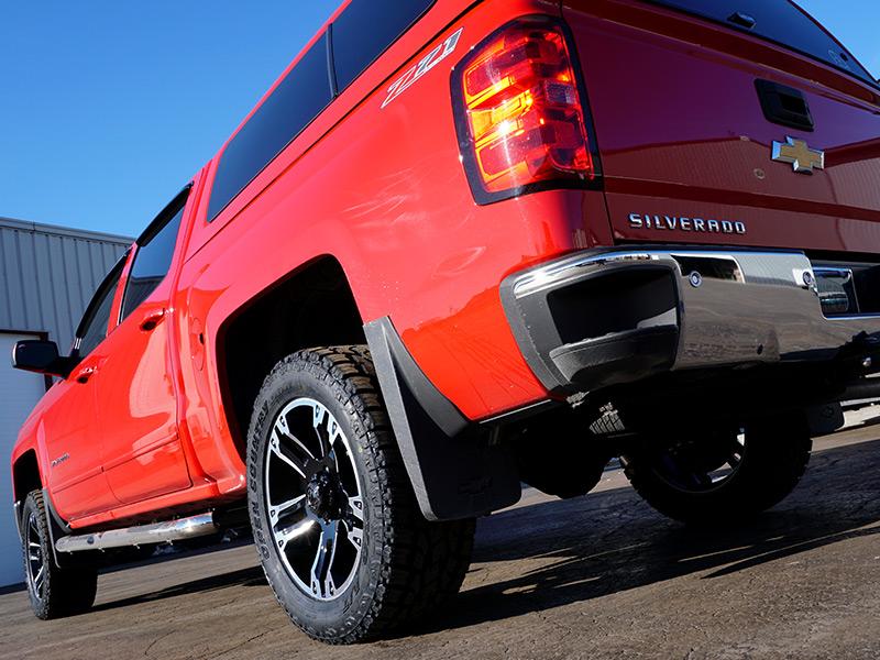 2015 Chevrolet Silverado 1500 20x9 Ultra Wheels 285