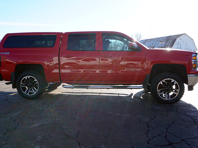 2015 Chevrolet Silverado 1500 20x9 Ultra Wheels 285