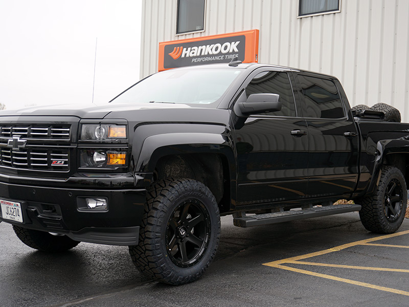 2015 Chevrolet Silverado 1500 20x9 Fuel Offroad Wheels
