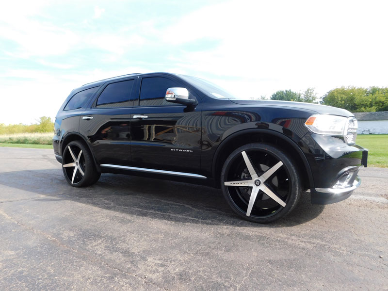 Wholesale Tires Free Shipping >> 2015 Dodge Durango with 24x10 Lexani 275/30R24 Kumho