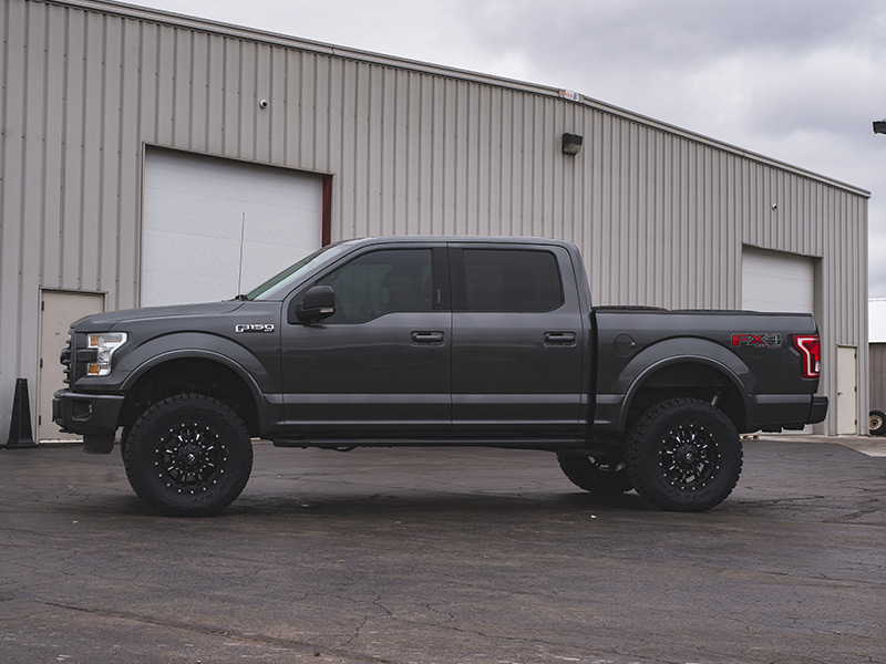 2015 Ford F 150 Lifted >> 2015 Ford F 150 18x9 Fuel Offroad Wheels 35x12 5r18 Toyo Tires 6