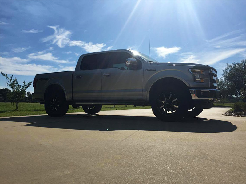 Ford F   Inch Rough Country Leveling Kit Moto Metal  X