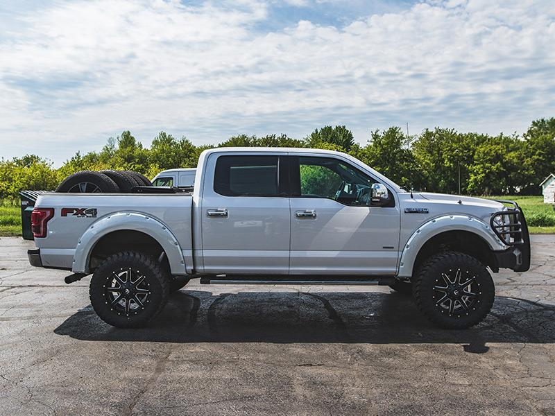 2015 Ford F 150 20x9 Fuel Offroad Wheels 35x12 5r20 Atturo Tires