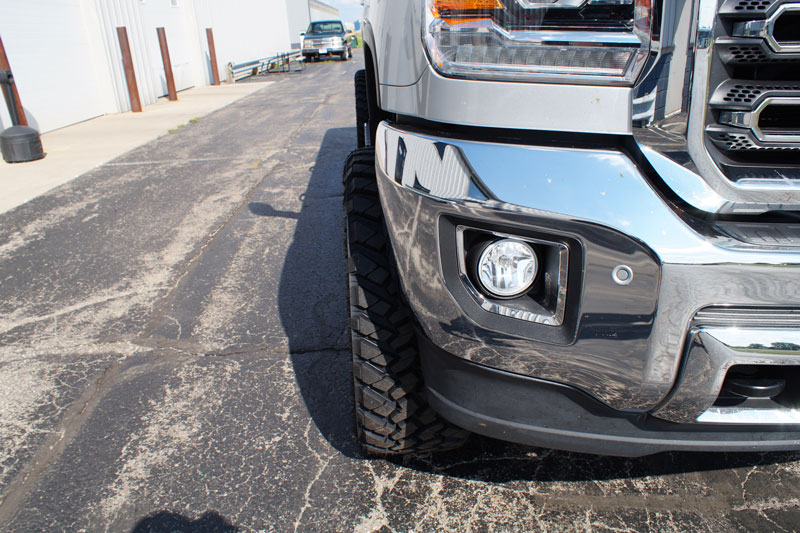 Nitto Grappler Mt >> 2015 GMC Sierra 2500 HD - 22x10 Fuel Offroad Wheels 35x12.5R22 Nitto Tires BDS 4.5-inch ...