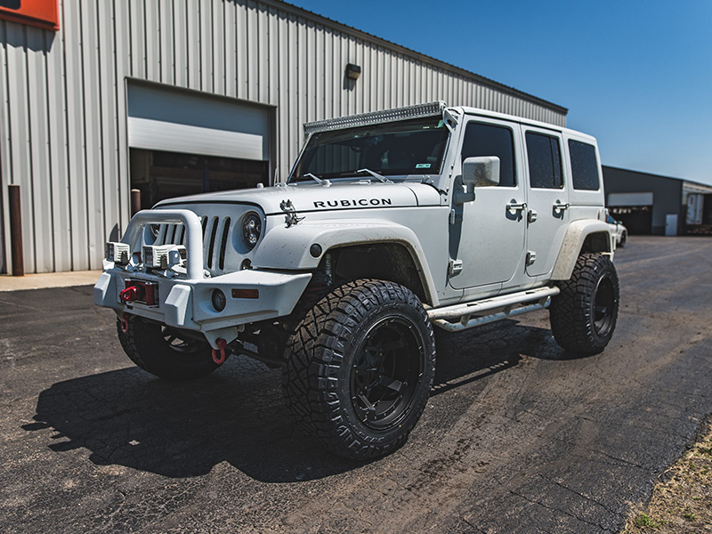 Jeep Lift Kit >> 2015 Jeep Wrangler 20x12 XD Series Nitto 35x12.5R20