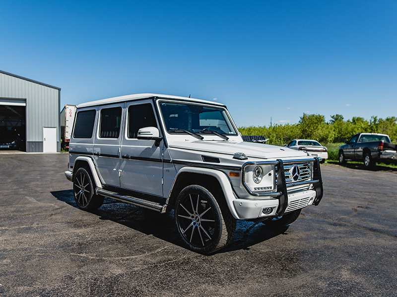 2015 Mercedes Benz G550 22x9 Fondmetal Wheels 275 40r22