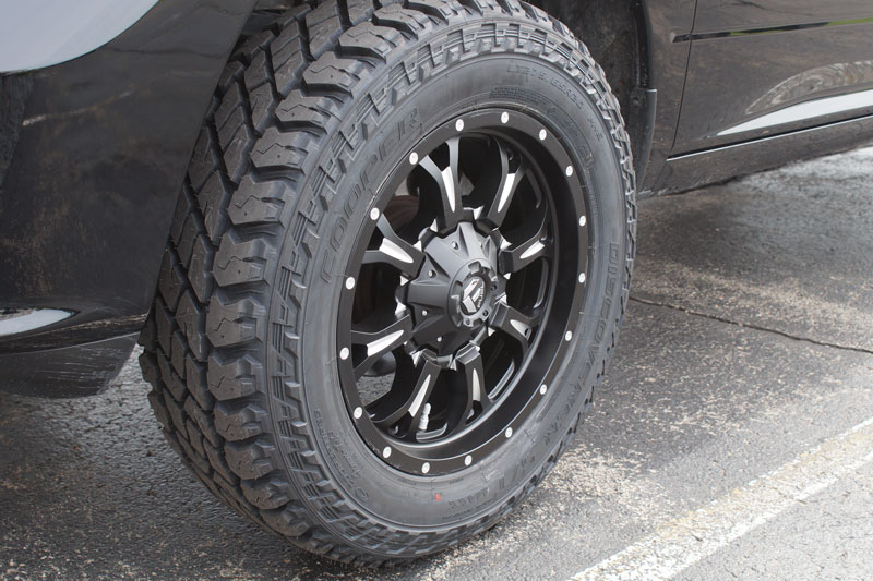 2014 Ram 1500 20x9 Fuel Offroad Cooper Lt275 65r20