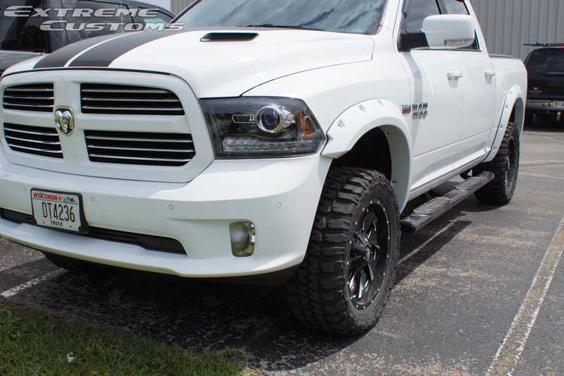 33 Inch Tire 20 Inch Rim >> 2016 Ram 1500 20x9 Fuel Offroad Federal LT33x12.5R20