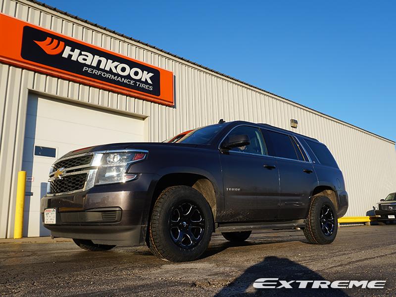 2015 Chevrolet Tahoe 18x9 Fuel Offroad Wheels 265 65r18