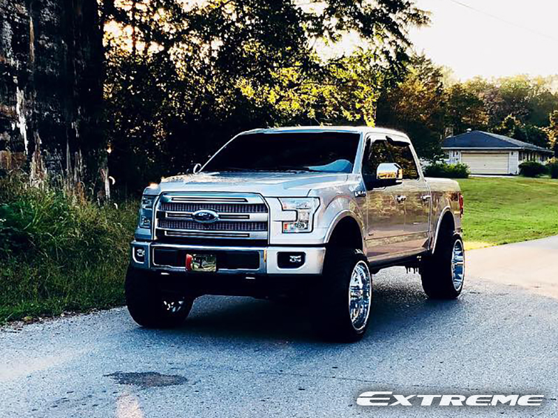 2015 Ford F 150 24x14 American Force Wheels 35x13 5r24 Amp Tires Bds 6 Inch Suspension Lift