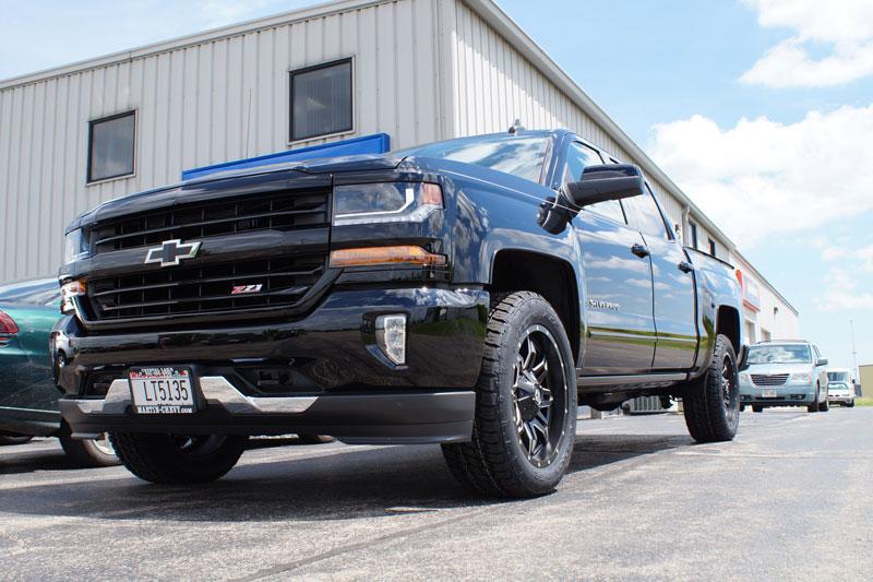2016 Chevrolet Silverado 1500 Fuel Lethal D567 20x9 20 By 9 +20 Offset Wheels Nitto Terra Grappler G2 275 55 20 Tires
