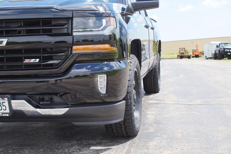 2016 Chevrolet Silverado 1500 20x9 Fuel Offroad Nitto 275 ...
