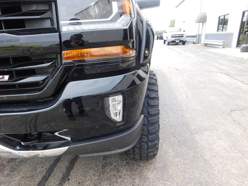 2016 Chevrolet Silverado 1500 With 7.5 Inch Lift Kit Fuel Offroad Hostage D531 18x9 18 By 9  12 Offset Wheels Federal Couragia Mt 35 12.50 18 Tires