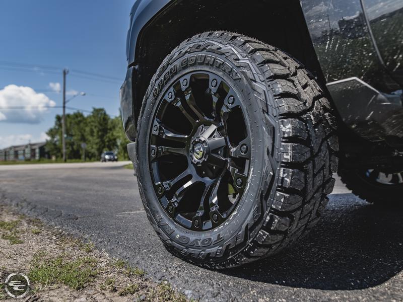 Fuel Wheels 20x9 >> 2016 Chevrolet Silverado 1500 20x9 Fuel Offroad Wheels 285