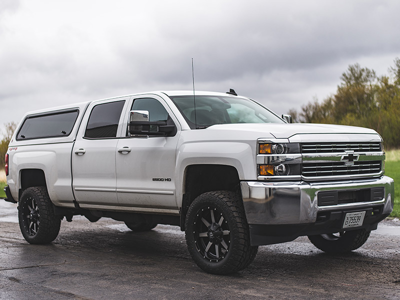 2016 Chevy Silverado 2500hd Rough Country 1 5 2 Inch Leveling Kit Fuel Offroad Maverick 20x9