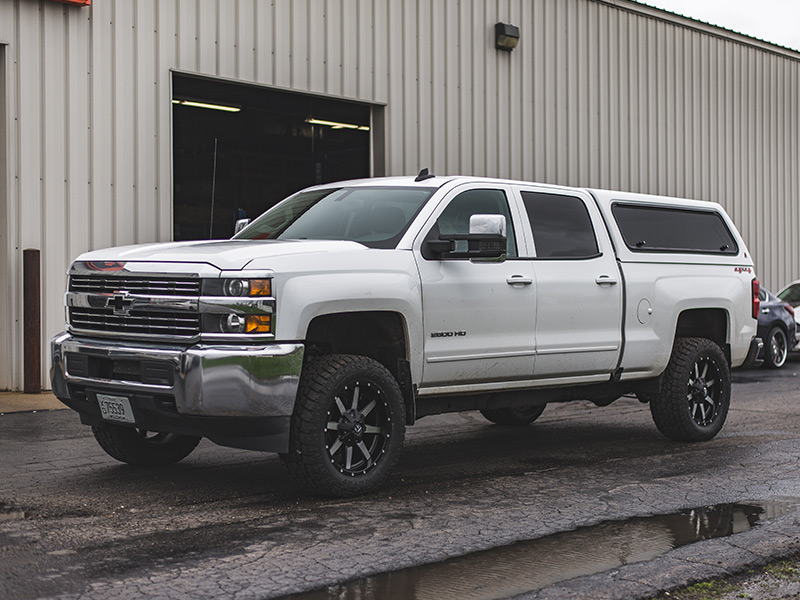 2016 Chevy Silverado 2500hd Rough Country 1 5 2 Inch Leveling Kit Fuel Offroad Maverick 20x9 +01 Offset Toyo Open Country Xtreme At Ii 295 55r20 Tire