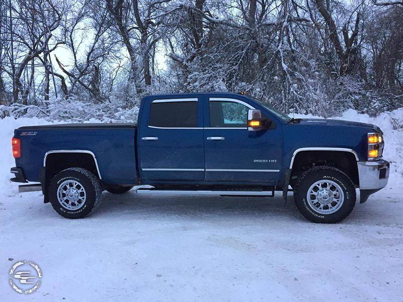 2016 Chevrolet Silverado 2500 HD 18x9 Fuel Offroad ...