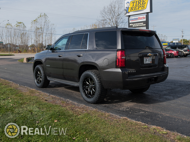 2016 Chevrolet Tahoe 20x9 Black Rhino Wheels 305 55r20