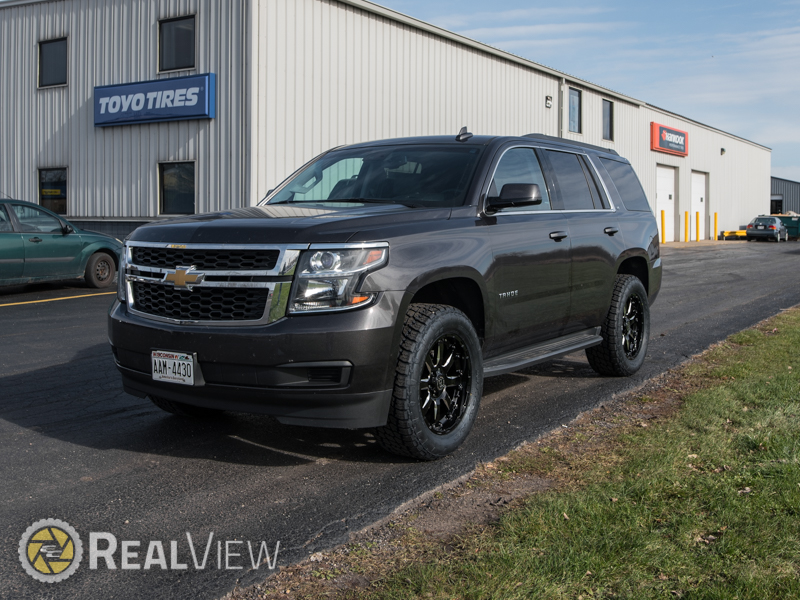Ram 1500 Accessories >> 2016 Chevrolet Tahoe - 20x9 Black Rhino Wheels 305/55R20 Nitto Tires Rough Country 2-inch ...