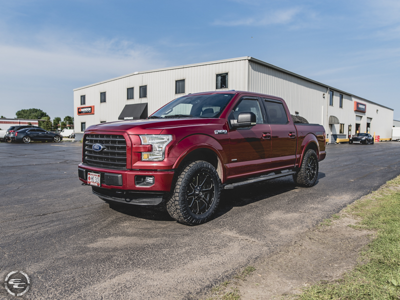 2016 Ford F-150 - 20x9 Fuel Offroad Wheels 295/60R20 Nitto ...