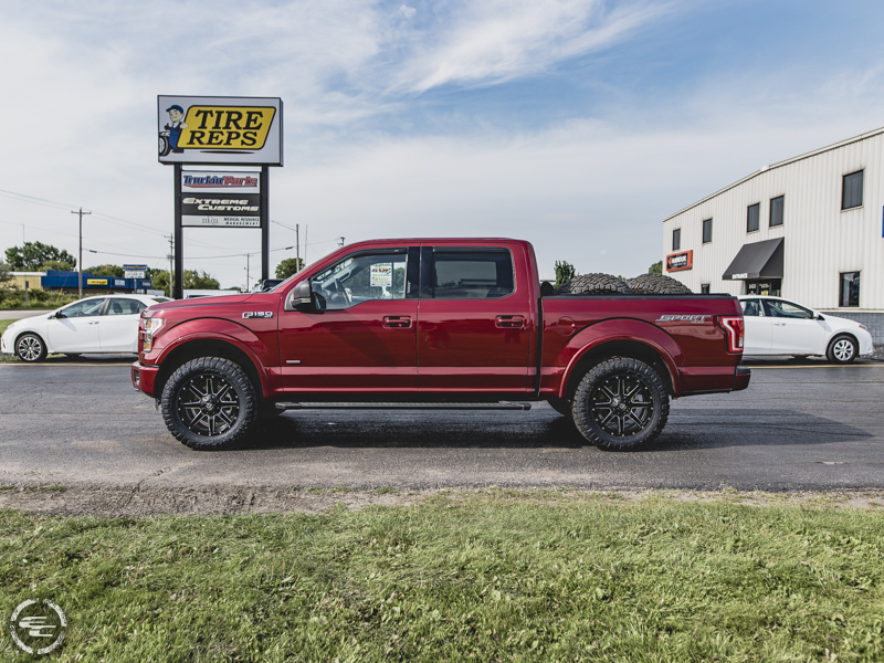 2016 Ford F-150 20x9 Fuel Offroad Nitto LT295/60R20