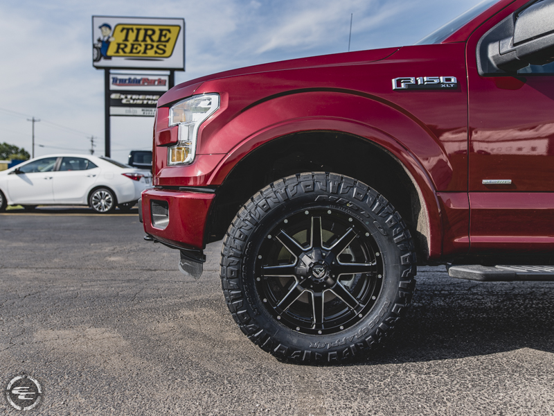 2016 Ford F 150 20x9 Fuel Offroad Nitto Lt295 60r20