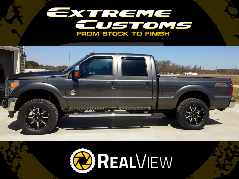 2016 Ford F 250 With 2 5 Inch Leveling Kit Moto Metal Mo970 20x10  24 Offset 20 By 10 Inch Wide Wheels Toyo Open Country At Ii 35x12 50r20 Tires