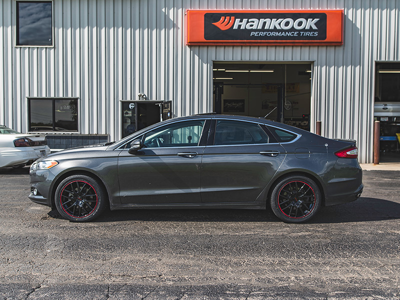 2016 Ford Fusion Touren Tr60 Br 18x8 40 Offset 18 By 8 Inch Wide Wheel