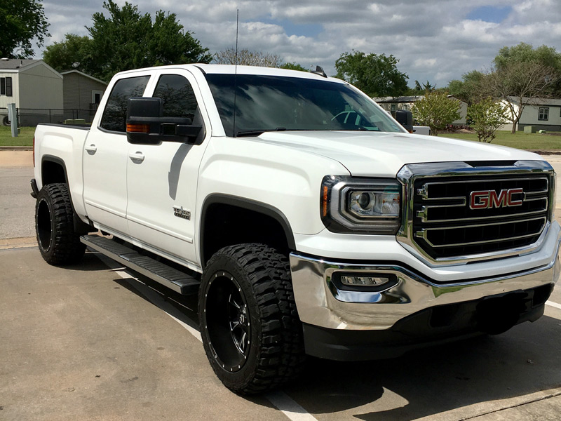 Gmc Denali N >> 2016 GMC Sierra 1500 - 20x12 Fuel Offroad Wheels 33x12.5R20 Federal Tires 3-inch suspension lift kit