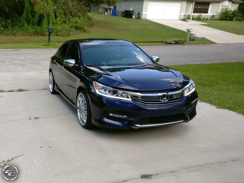 Beautiful 2016 Honda Accord With Mazziswank 363c 20x8 5 20 By 8 5 Inch Wide Wheel Toyo