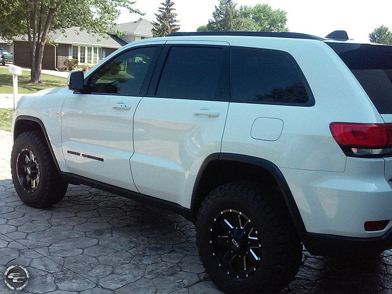 2016 Jeep Grand Cherokee 17x9 Ion Alloy Wheels 27570R17