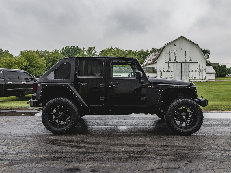 2016 Jeep Wrangler 20x10 Fuel Offroad Wheels 35x13 5r20 Nitto Tires