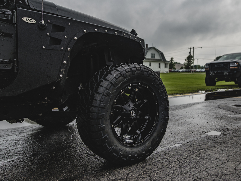 2016 Jeep Wrangler 20x10 Fuel Offroad Nitto 35x13 5r20