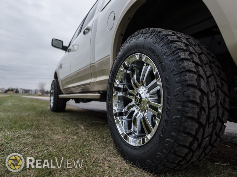 2016 Ram 2500 20x10 Rbp Wheels 295 60r20 Toyo Tires