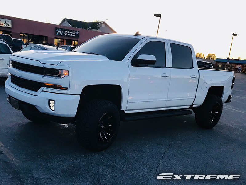 2016 Chevrolet Silverado 1500 - 20x12 Dropstars Wheels ...