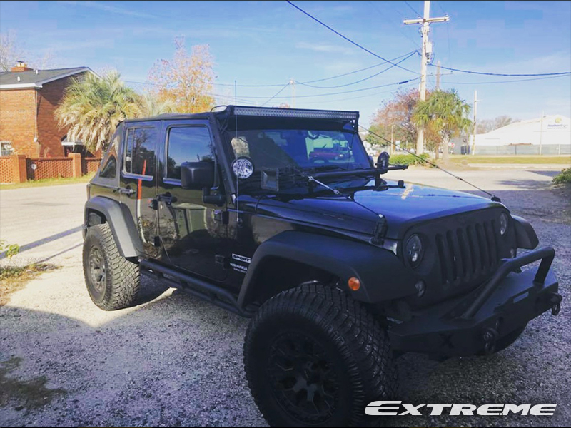 35 12 5 R17 >> 2016 Jeep Wrangler 17x9 Helo Wheels 35x12 5r17 Atturo Tires