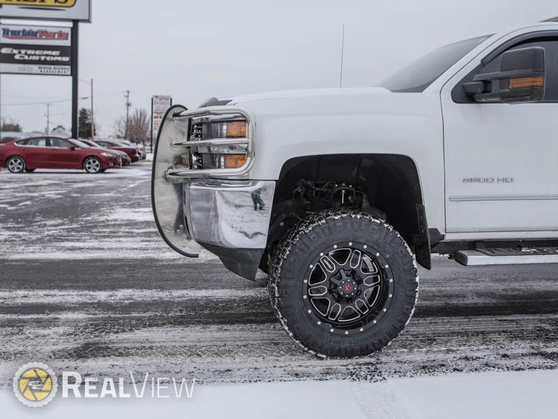 2017 Chevrolet Silverado 2500 Hd 20x9 Rbp Wheels 35x12 5r20 Nitto